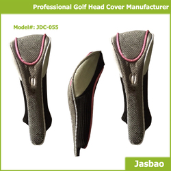 Wholesale Custom Made Knitted Golf Head Cover