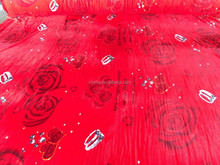 New Style Coral Fleece Blanket Fabric Printing Flannel Fabric