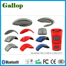 folding wireless bluetooth mouse