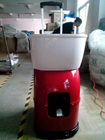 easy portable tennis ball machine china for sale