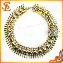 2014 Fashion Necklace Gold Color Jewelry