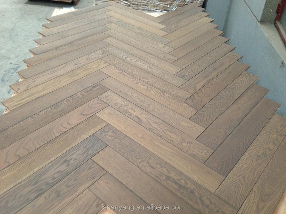 Hot Sale Herringbone Fishbone Walnut Wood Parquet Flooring