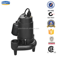 Cast Iron Sewage Pumps with CSAcertification - submersible sewage water pump