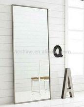 Vicshine 6 mm, cuarto de baño de aluminio espejo, a prueba de agua cristal del espejo de