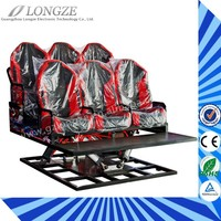 Best seller High quality 5d/6d/7d cinema simulator cinema seat home 5d cinema equipment from Longze