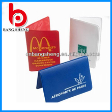2014 Professional Manufactory PVC Plastic Folding Business Card Holder In China
