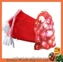 mono red onion packaging mesh net bags