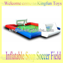 Hot Inflatable soap soccer field
