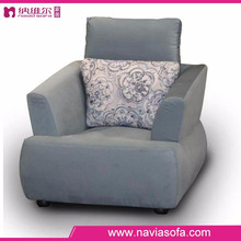 Fabric furniture modern bedroom Single seat high density foam lounge chair