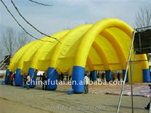 inflatable sports Type and PVC,0.45-0.55 mm PVC tarpaulin /plato Material big inflatable soap football field