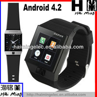 Android 4.2 OS Smart watch phone S5 high quality Multi function capacitive touch