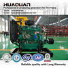 Hot Sale 50HP k4100D diesel engine with Clutch