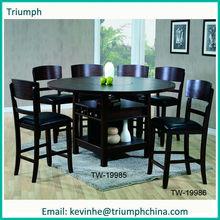 Suar Wood Solid Slab Wood Dining Table