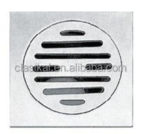 304 grade chrome plated stainless steel shower floor drain