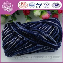 Gorgeous wool/bamboo fiber hand knitting yarn