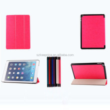 sleep and wake function magnetic smart tablet cover case for ipad air