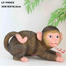Resin Animal Monkey, Resin Animal Handicraft, Resin Animal Item