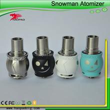 Perfect vape feeling 1:1 clone snow man rda clone, Snowman Rda 1:1 Clone Rebuildable, Snow Man Rda