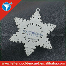 custom design china christmas star ornament/christmas star wholesale