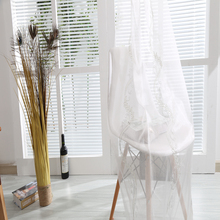 Polyester woven technic voile curtain models for living room drape patterns