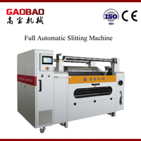 High Speed Cellophane Paper Plastic Film Slitting And Rewinding Machine Price Full Automatic Effecient