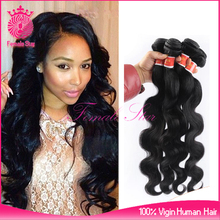 hot selling products 100 brazil virgin human hair in usa 2015