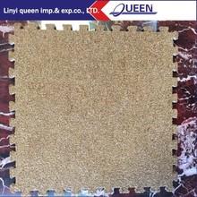 Carpet Interlocking Floor Tiles Carpeted Top Foam Eva Floor Mat