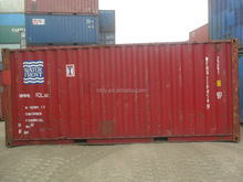 used 20ft hc&gp dry cargo container