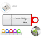 8 GB - 64 GB unidade flash usb de plástico usb 3.0 pendrive aceitar o logotipo do cliente