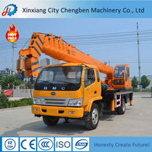 Strong Power 8Ton Hydraulic Straight Boom Small Mobile Crane Sales