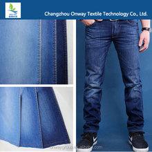 fashionable cotton/tencel 62.9/37.1 denim fabric for summer season