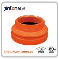 FM&UL approved ductile iron fire fighting pipe fitting reducer of Concentric Reducer