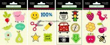 personized car decoration accessories gifts---pvc rubber label