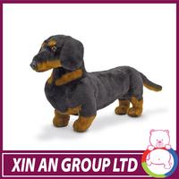 2014 hot sale toy good quality black dog plush toy