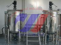 500L stainless steel mixing tanks pharmaceutical mixing tank