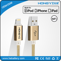 Fast Charging Usb Data Cable Braided Alloy Data Cable Micro Usb Cable For UK market