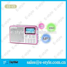 Fm-з короткие волны радиоприемник с USB и слот для карты Microsd и фонарик