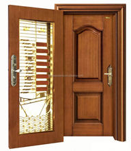 customized strong decorative modern industry security door with ce