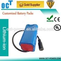 li-battery 7.4v 4400mah 18650 battery lithium ion battery
