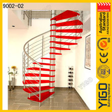 Escada espiral dwg e villas projeto escada em espiral