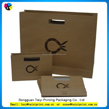 high quality fancy cloth paper carry bag