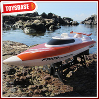 Huanqi NQD Double Horse Feilun 2.4G 4CH Brushless High speed Electric Remote Control Boat FT009 gas power rc boat