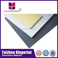 Alucoworld Panel Tailored Precise ACM ACP fire resistant decorative wall panel