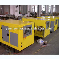 water cooled home use industrial electric 38kva 30KW super silent diesel generator silent type with ATS