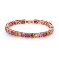 tourmaline germanium energy power titanium magnetic bracelet