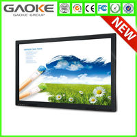 84 inch 4K UHD 10 points touch screen HDD interactive All In One Monitor from China manufacturer with best touchscreen price