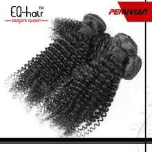 Quality Guarantee 100% Human Hair Peruvian Curly Hair
