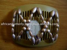 African butterfly Hair comb Patented clip,