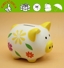 custom money box, coin bank with lock