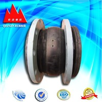 Flexible rubber shaft coupling with flange for pvc pipe china factory